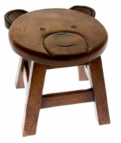 Childs Solid Wooden Bear Stool - Lovely High Quality  sc 1 st  Amazon UK & Childs Solid Wooden Bear Stool - Lovely High Quality: Amazon.co.uk ... islam-shia.org
