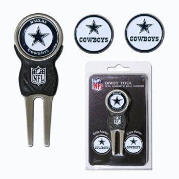Dallas Cowboys NFL Divot Tool Pack w/Signature tool
