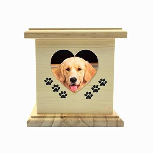 wooden dog urns - 5