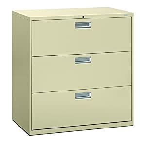 HON The Company H682.L.L HON682LL 2-Drawer Cabinet-600 Series Lateral Legal or Letter File Cabinet, 2-Drawer Putty