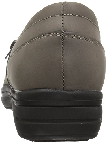 Easy Works Women's Bentley Health Care Professional Shoe, Grey Nubuck, 7.5 W US by Easy Works (Image #2)