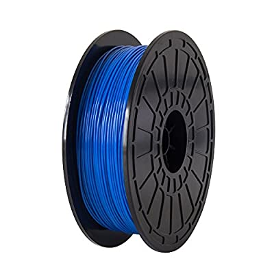 Elephant ABS Blue,1.75mm 3D Printer Filaments,compatible with FlashForge Dreamer,0.6 Kg spool-Dimensional Accuracy +/- 0.05mm