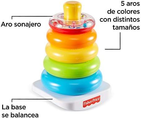 Fisher-Price - Pirámide balanceante - juguetes bebe 6 meses ...