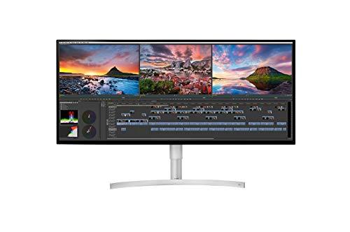 "LG 34BK95U-W UltraFine 34"" 21:9 5K 2K (5120 x 2160) Nano IPS LED UltraWide Monitor, 600 cd/m² HDR, Thunderbolt 3 / USB Type-C Inputs"