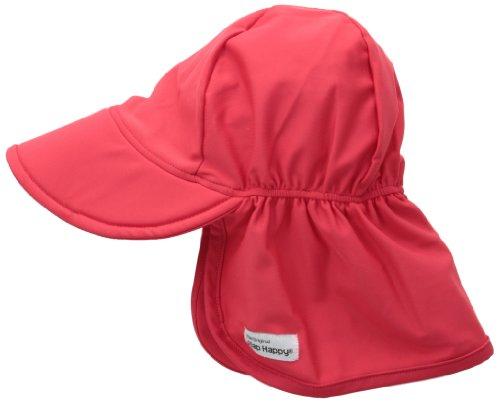 Flap Happy Little Boys' Upf 50+ Swim Hats, Red, X-Large