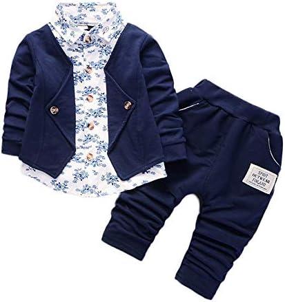 Ropa Bebe Niño otoño Invierno 2018, Conjunto de Ropa para bebé niños de Caballeros Trajes de Fiesta del Boda Formal Camisas y Pantalones: Amazon.es: Ropa y accesorios
