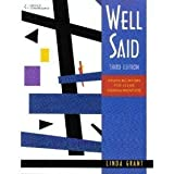 Well Said Text/Audio CD Package, Grant and Grant, Linda, 142408802X