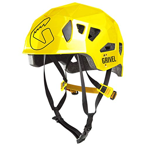 Grivel Stealth HS Helmet - Yellow (Grivel Climbing Helmet)
