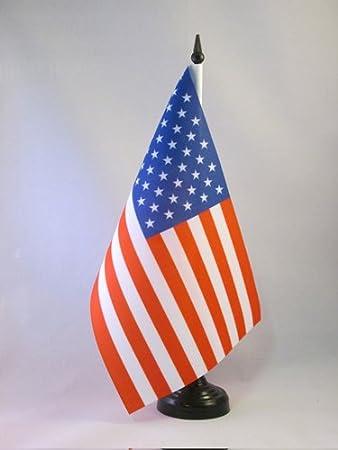AZ FLAG Bandera de Mesa de los Estados Unidos 21x14cm - BANDERINA ...