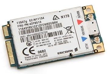 Lenovo ThinkPad SL300 Ericsson WWAN Treiber Windows 7