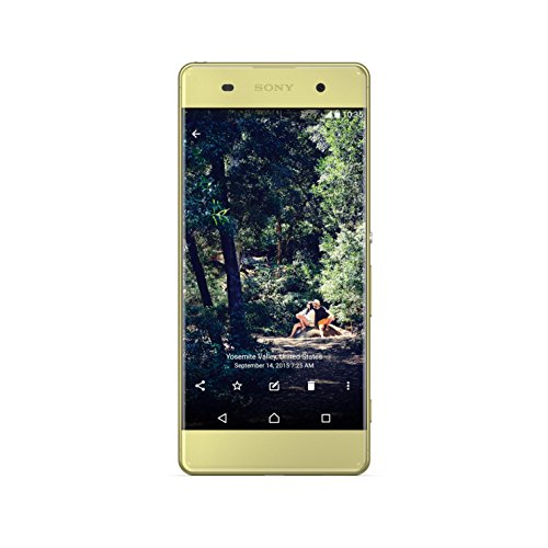 Sony 1302-2517 XPERIA XA 4G LTE with 16GB Memory Cell Phone (Unlocked) Lime gold