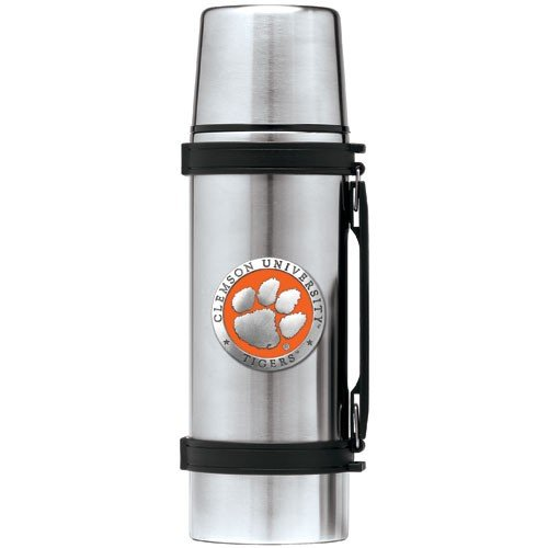 Clemson Tigers Stainless Steel Thermos