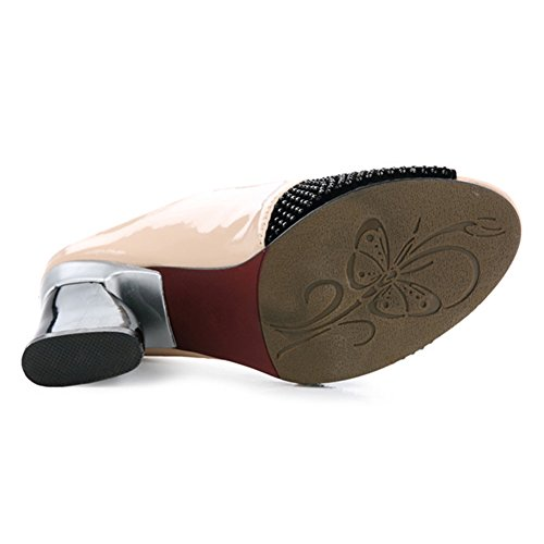 Cuir3 Tongs Couture Forage Abricot tuoxie Chaussures De Poisson Pantoufles Perche Sandales Tingting Le Nouveau Couleurs9 Point Sauvage Tailles Couleur DisponiblesTingting 8n0mvNwO