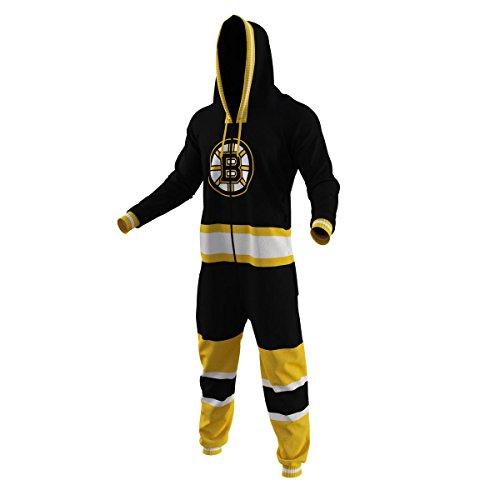 Boston Bruins NHL Adult Onesie Medium