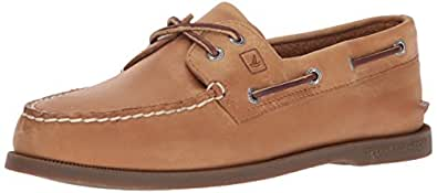 Sperry Top-Sider Men's A/O 2-Eye Boat Shoe,Sahara,6 W US