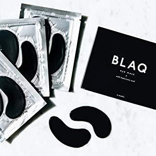 BLAQ Hyrdrogel Eye Masks With Hyaluronic Acid, Set of 5 Masks