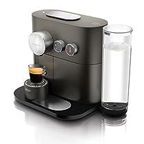 DeLonghi Expert, Macchina con Sistema a Capsule Nespresso, Grigio