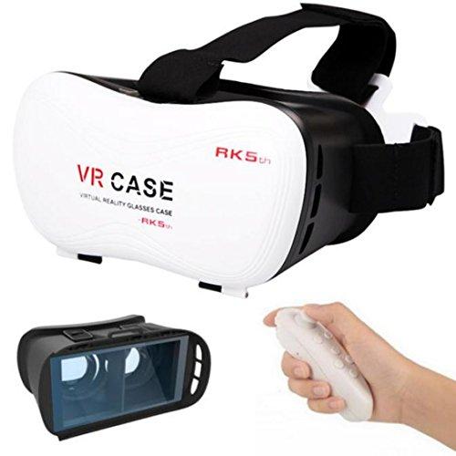 WensLTD For Samsung Galaxy S7 New Google Cardboard VR BOX Virtual Reality 3D Glasses