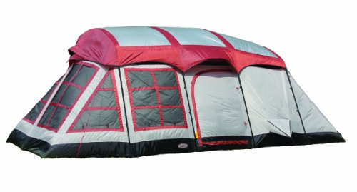 Texsport Big Horn 3-Room Cabin Tent, Outdoor Stuffs
