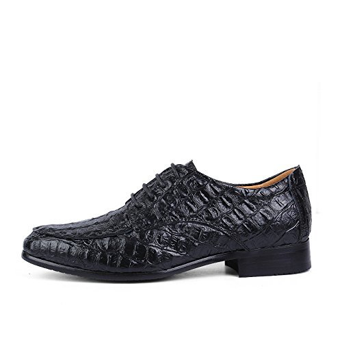 Sunny&Baby Casual Men's Business Oxford Casual Sunny&Baby Simple Classic Crocodile Round Toe Formal Shoes Abrasion Resistant (Color : Black, Size : 10.5 D(M) US) 10.5 D(M) US|Black B07GBTMQ5B cfa395