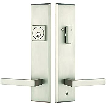 Rockwell Times Square Entry Door Lock Handle set with Delta lever ...