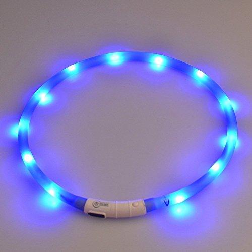 LED Dog Collar Light Up Night Safety
