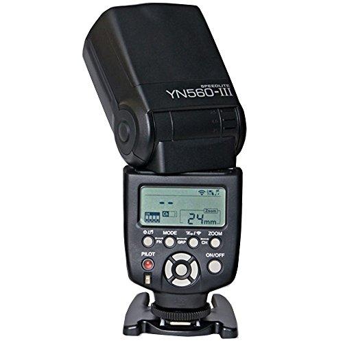 Yongnuo製 Speedlight YN560 III Canon/Nikon/Pentax/Olympus対応 フラッシュ・ストロボ YN560 II後継モデル 高出力スピードライト