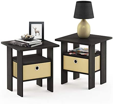 home, kitchen, furniture, living room furniture, tables,  end tables 1 image Furinno End Table Bedroom Night Stand, Petite, Espresso promotion