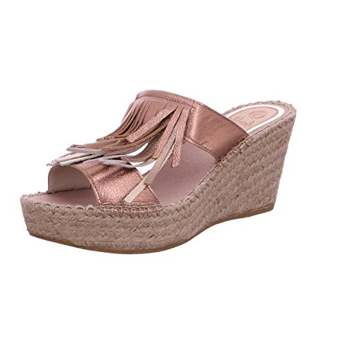 Vidorreta 36830-natural - Sandalias de vestir para mujer Bunt-sonstige