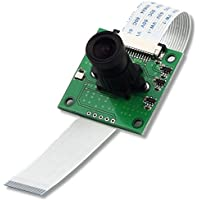 Arducam 5 Megapixels OV5647 Sensor Camera Module with M12x0.5 Mount Lens for Raspberry Pi Model A/B/B+, Pi 2 and Raspberry Pi 3