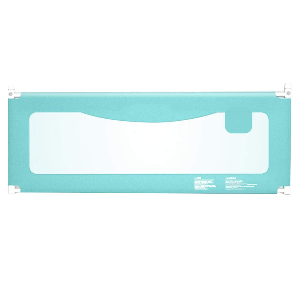 ポータブルベッドガード エクストラロングベッド、調節可能な安全ベッドレールベッドガード(ダブル/ツイン/クイーン/キングベッド6885cm) (色 : 青, サイズ さいず : Length 200cm) B07K2X5LHN Length 200cm|青 青 Length 200cm