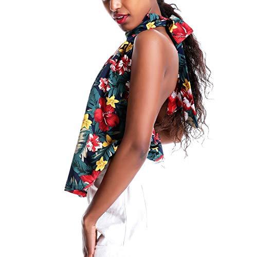 Para Camisa Floral Blusa Con Icerber Mujer Femenina Descubiertos Floral Verano Moda Mangas Armada De Sin Hombros Camiseta twzqzvPf