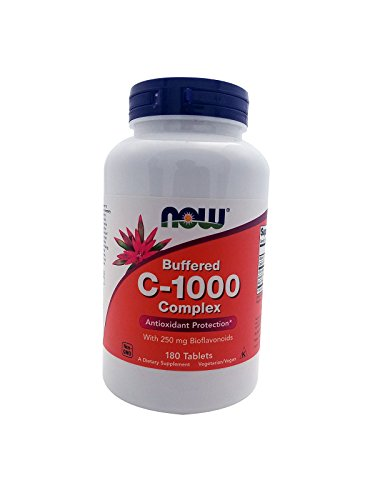 - Now Foods Buffered C-1000 Complex 180 Tablets