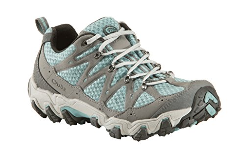 Oboz Women's Luna Low Hiking Shoe,Mineral Blue,8.5 M US
