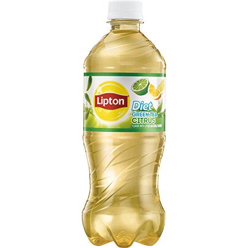 Lipton Diet Ice Tea, Diet Green Tea with Citrus, 20oz Bottle
