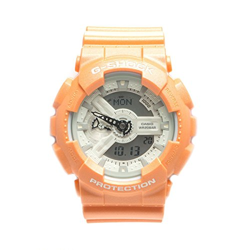 Casio G Shock Orange Watch GA110SG 4A