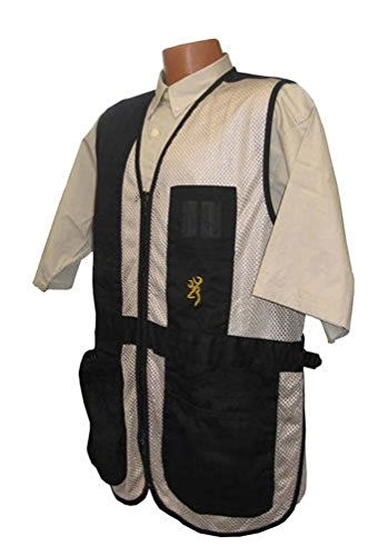 Browning, Trapper Creek Vest, X-Large, Black/Tan by Browning