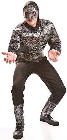 Disfraz Hombre Araña Musculoso negro para hombres: Amazon.es ...