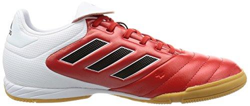 adidas Copa 17.3 In, Botas de Fútbol para Hombre Rojo (Red/core Black/ftw White)