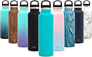 7c2acb58ad Amazon.com : Simple Modern Ascent Water Bottle - Narrow Mouth ...