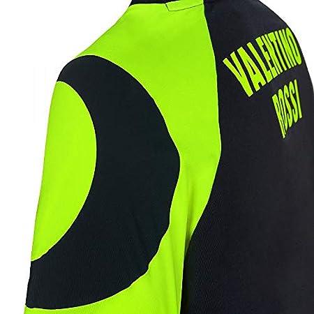 VR46 Camiseta DE Camiseta R/ÉPLICA DE Sol Y Luna Casco