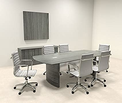 Amazoncom Modern Contemporary Feet Conference Table MTMEDC - 8 foot conference table and chairs