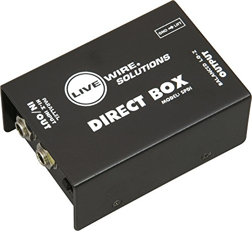 livewire spdi passive direct box with attenuation pad buy online in uae musical instruments. Black Bedroom Furniture Sets. Home Design Ideas