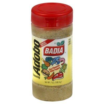 Badia Adobo Seasoning With Pepper, 7 oz (Pack of 12) by Badia