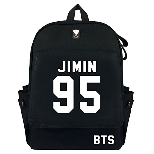 A Backpack Schoolbag Bts r Perfect Travelling Kpop For Messenger Jimin Pu m y Gift Bags f1Byq