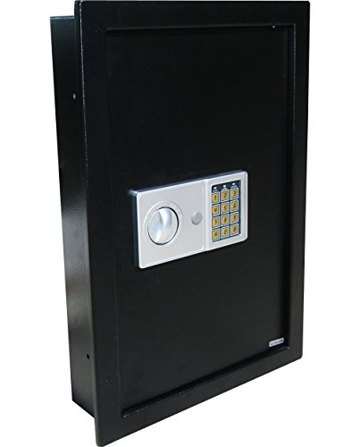 Digital-Electronic-Flat-Recessed-Wall-Hidden-Safe-Security-Box-Jewelry-Gun-Cash