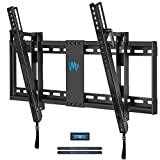 """Mounting Dream MD2165-LK Tilt TV Wall Mount Bracket For Most of 42-70 Inches TVs with VESA 200x100 To 600x400mm and Loading Capacity 132 lbs, Fits 16"""", 18"""", 24"""" Studs"""