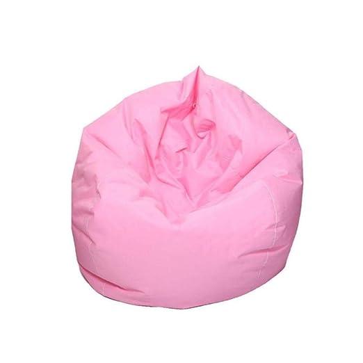 JYYA Lazy Bean Bag Sofás Cubra Las sillas sin Relleno Oxford Cloth ...