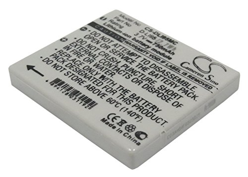 (Replacement Battery Part No.D-LI95 for PENTAX Optio E75,Optio E85,Optio M85,Camera Battery)