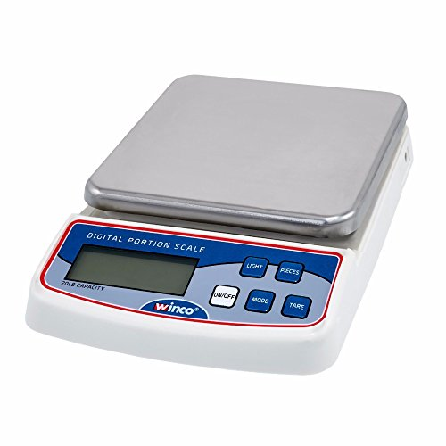 Winco SCAL-D20 2 lb. Compact Digital Portion Scale,Each